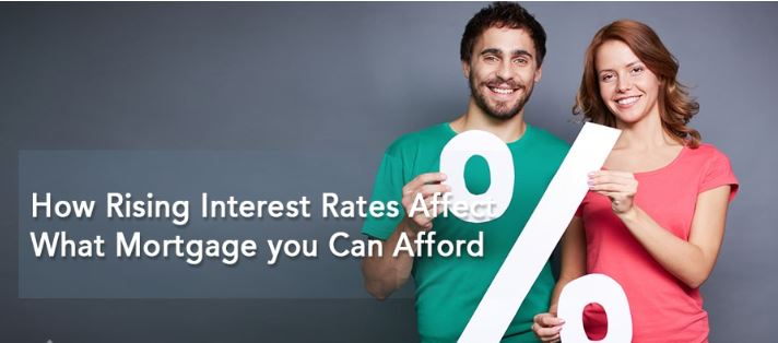 How Rising Interest Rates Affect What Mortgage you Can Afford