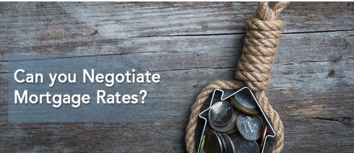 Can you Negotiate Mortgage Rates?