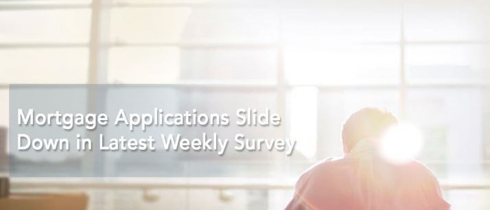 Mortgage Applications Slide Down in Latest Weekly Survey