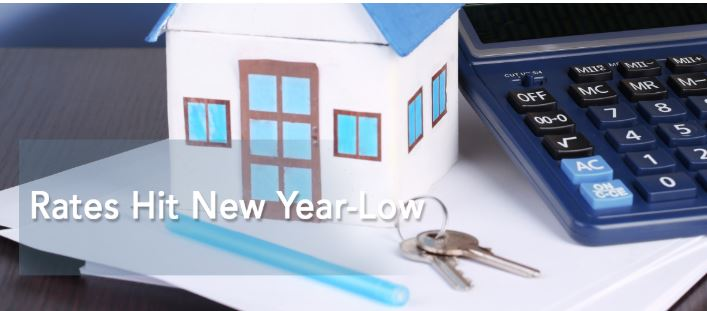 Rates Hit New Year-Low
