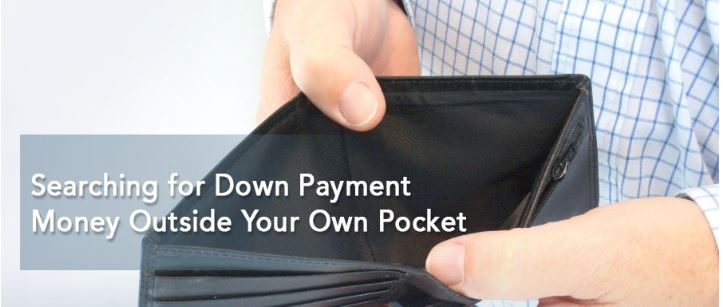 Searching for Down Payment Money Outside Your Own Pocket
