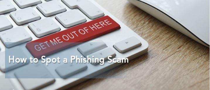How to Spot a Phishing Scam