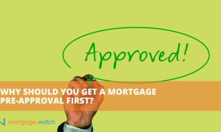 WHY SHOULD YOU GET A MORTGAGE PRE-APPROVAL FIRST?