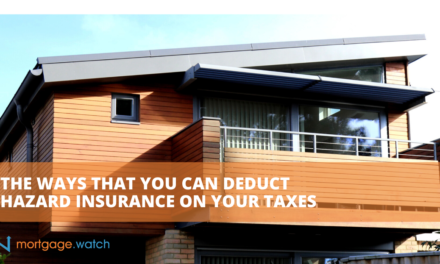 THE WAYS THAT YOU CAN DEDUCT HAZARD INSURANCE ON YOUR TAXES