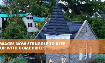WAGES NOW STRUGGLE TO KEEP UP WITH HOME PRICES