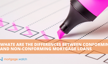 WHATE ARE THE DIFFERENCES BETWEEN CONFORMING AND NON-CONFORMING MORTGAGE LOANS