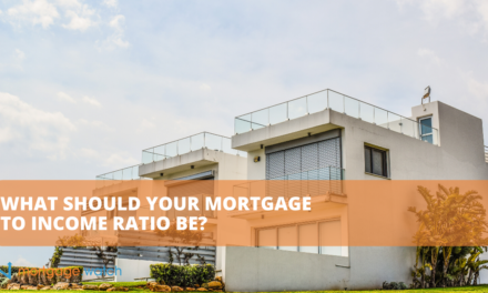 What Should Your Mortgage to Income Ratio Be?