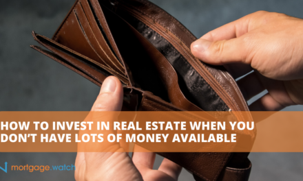 HOW TO INVEST IN REAL ESTATE WHEN YOU DON'T HAVE LOTS OF MONEY AVAILABLE