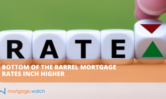 BOTTOM OF THE BARREL MORTGAGE RATES INCH HIGHER