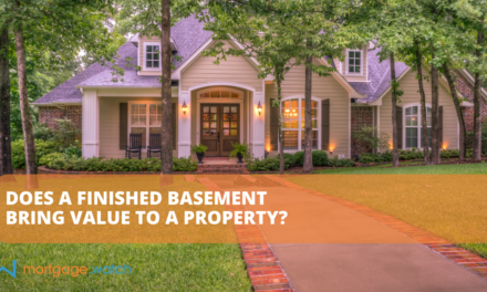 DOES A FINISHED BASEMENT BRING VALUE TO A PROPERTY?