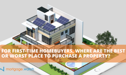 FOR FIRST-TIME HOMEBUYERS, WHERE ARE THE BEST OR WORST PLACE TO PURCHASE A PROPERTY?